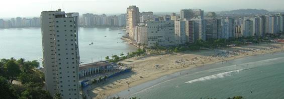 Guia comercial e turístico sobre a cidade de São Vicente na cidade de São Paulo - SP