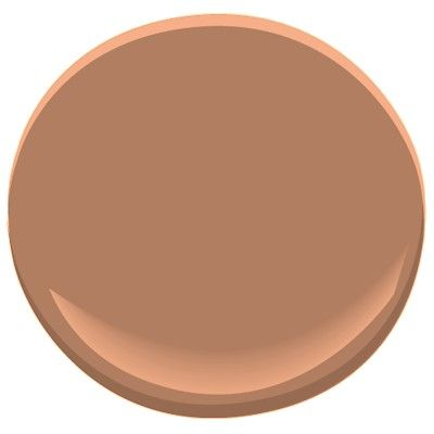 copper mountain color by benjamin moore. possible kitchen color...hmm?