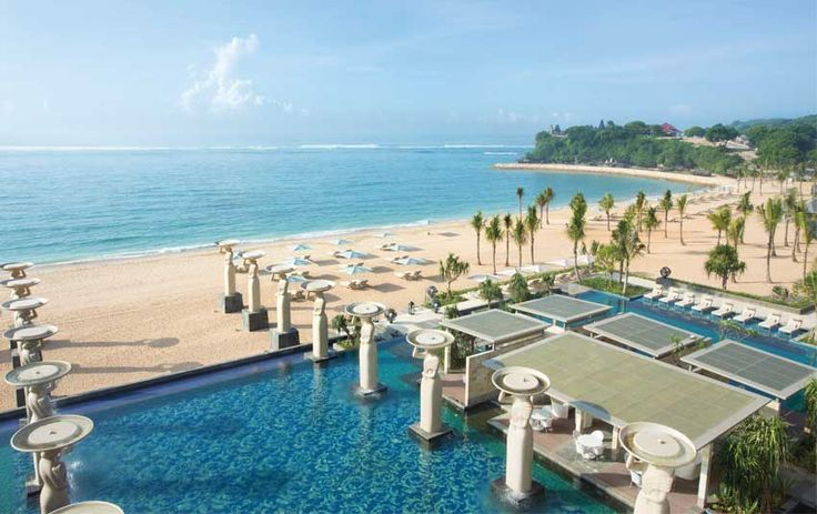 The Mulia Hotel & Resort @themuliabali recently awarded World's 3rd Best Hotel & Resort and Asia's No. 1 Best Beach Resort on The 2014 Conde Nast Traveler Reader's Choice Awards.