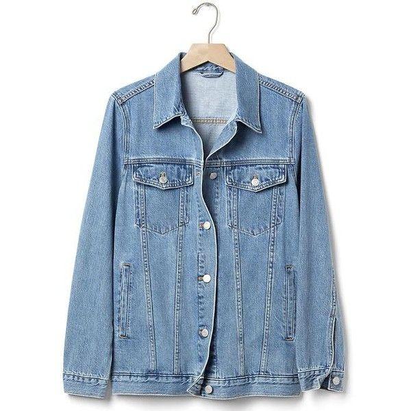 1000  ideas about Long Denim Jacket on Pinterest | Edgy fall