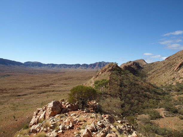 Ormiston Gorge & Pound Walk, Mt Zeil, Australia — by See Something New. The super spectacular view over the Ormiston Gorge Pound in Central Australia makes the long upwards climb all...