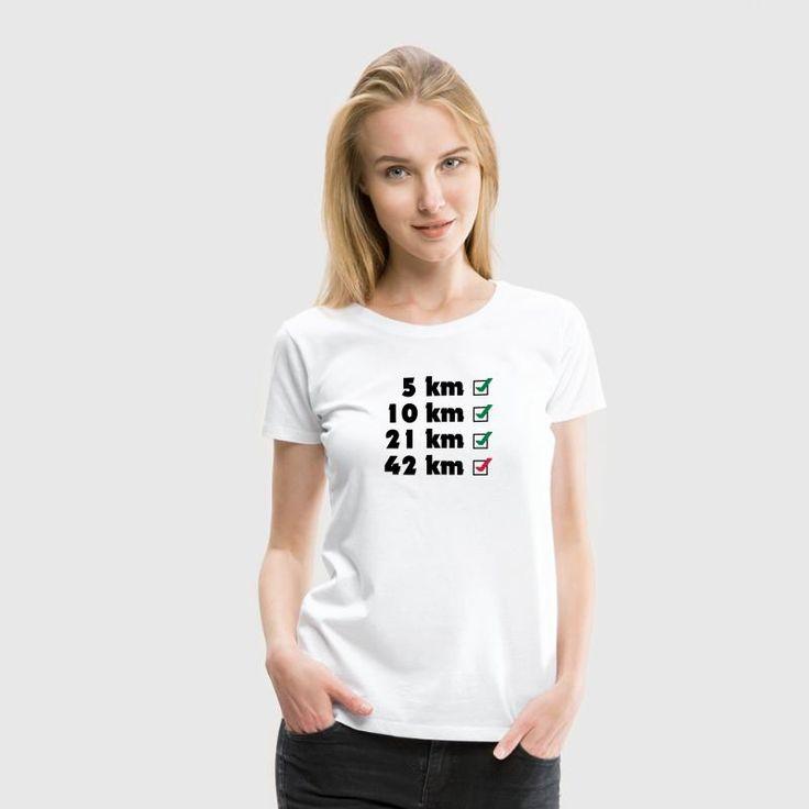 Marathon Checklist T-Shirt