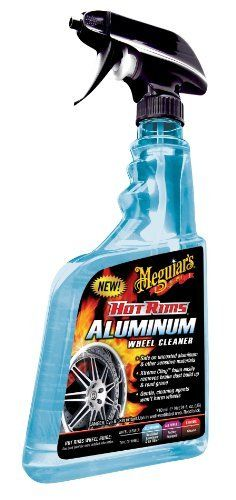 Meguiar's G16402EU Hot Rims Aluminium Wheel Cleaner, nettoyant pour jantes en alu 710 ml: Frequently Bought Together * + * + * + * + Price…