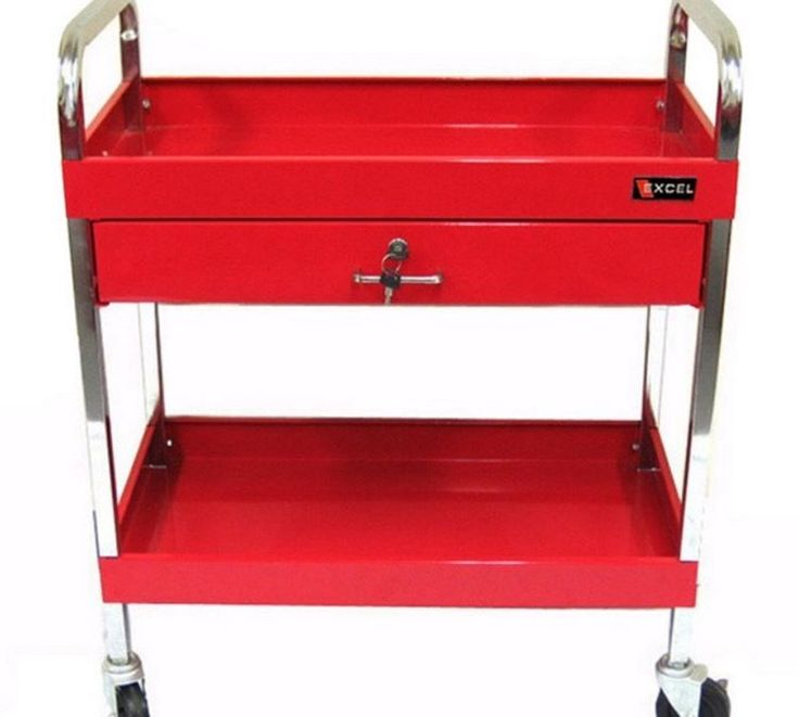 rolling tool cart home handyman gift mechanics on wheels with drawer excel new