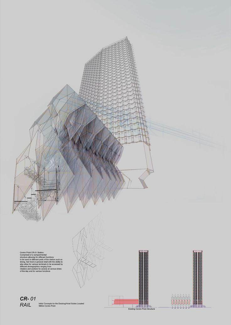 intelligentpencil:  Caravansary Rail: Center Point Station Concept