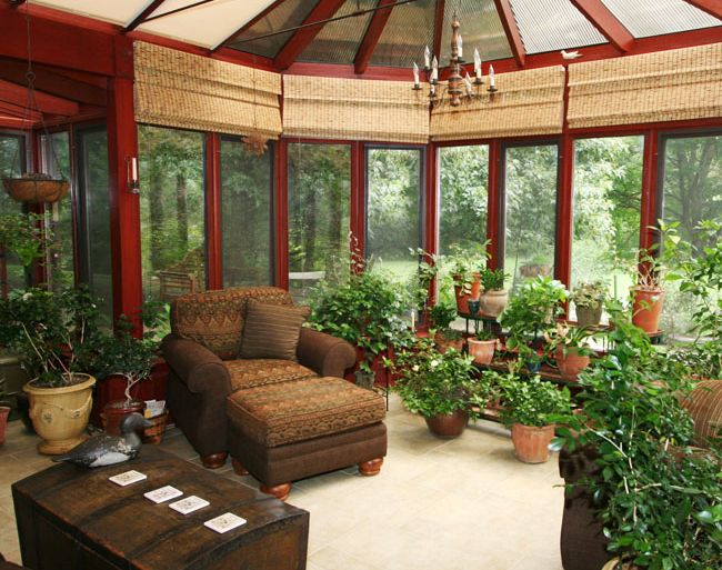 1000 images about shabby sunroom on pinterest for Rustic sunrooms