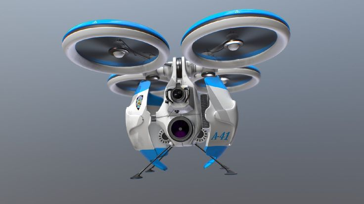 NYPD Surveillance Drone A-41 by Paul Chambers