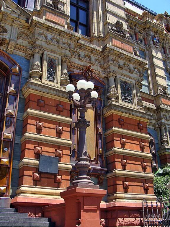 Palacio de Aguas Corrientes, Buenos Aires, Argentina - One of the best examples of the amazing architecture our city owns. You can go visit this building before or after your Spanish clases at El Pasaje Spanish School, our school is just a bus ride away ;) www.elpasajespanish.com
