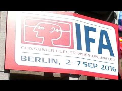 Funkausstellung/IFA Berlin 2016 - YouTube