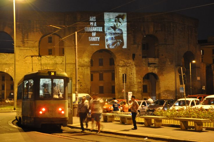 #dieselreboot is everywhere http://dieselreboot.tumblr.com #piazzamaggiore #rome