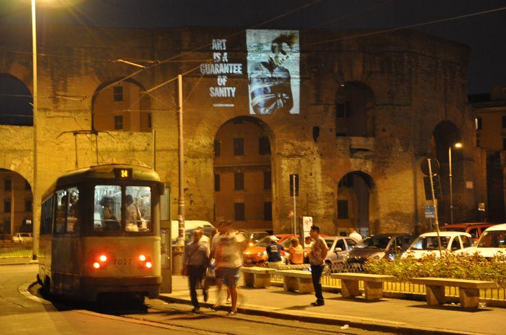 #dieselreboot is everywhere http://dieselreboot.tumblr.com #piazzamaggiore #rome