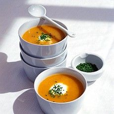 Slow-cooked Root Vegetable Soup recipe from delia online. Ingredients: carrots, celeriac, leeks, swede, onion, stock, bay leaves. Veg Bag friendly late Oct.