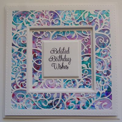 Hi Bloggers.   I'm back on Hochanda tomorrow night at 8pm launching a new One Day Special. I'm launching some of Sue Wilson's new Dies and S...