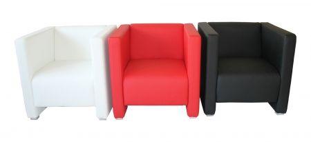 Lounge Sessel Reka 70 cm weiss-Möbel-Star