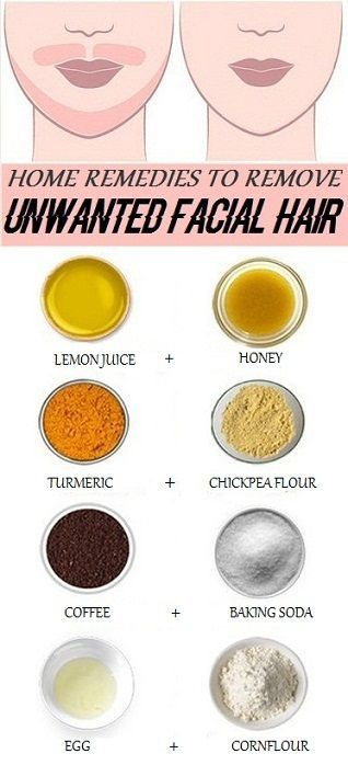 home Remedies For Unwanted Facial Hair Removal1..