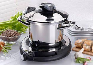 Económico: Cocinar con AMC te permite ahorrar tiempo, energía y dinero.