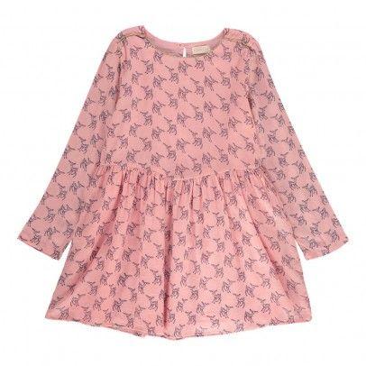 Robe Bambi Vichy Rose pâle  Simple Kids