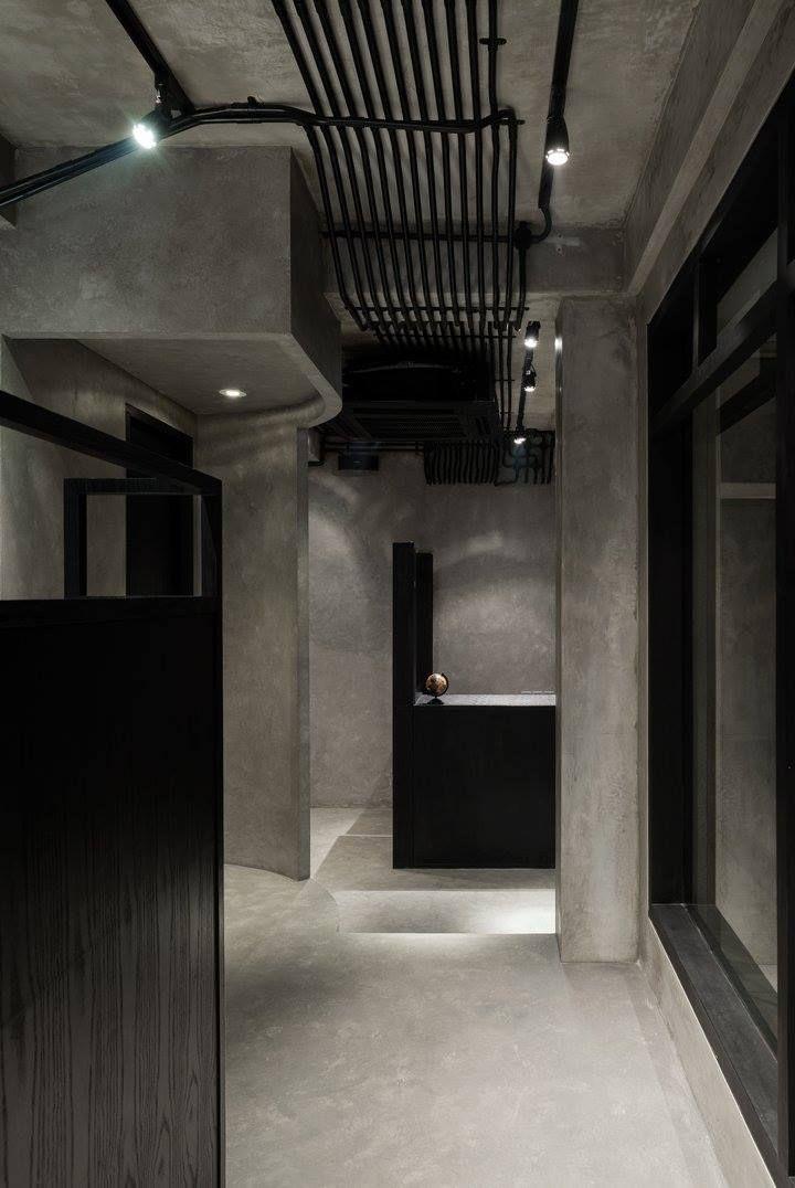 Ryoji Sakate Hair ShopHair SalonsJakartaRetail DesignIndonesiaLoungesRust InteriorIndustrial