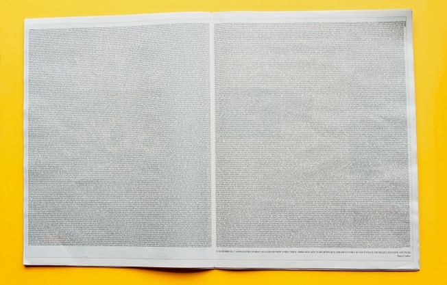 Paulo Coelho Just Published the Entire Text of His Novel 'The Alchemist' in a Single Ad   Adweek