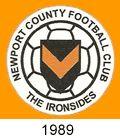 newport county fc crest 1989