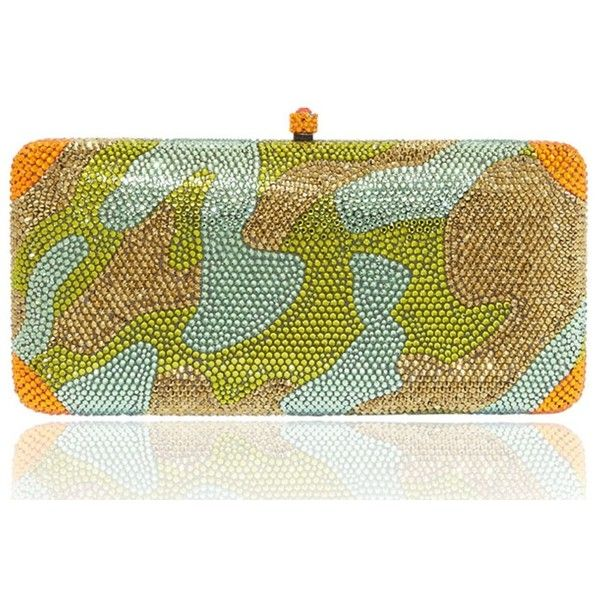Clutch X-camouflage - Shop Online at Style.com ❤ liked on Polyvore featuring clutches