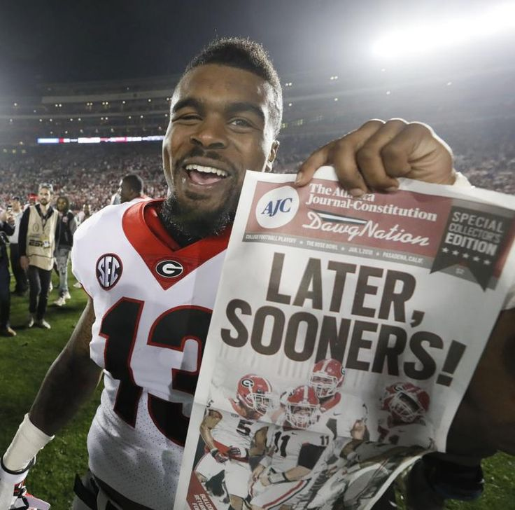 Georgia and Oklahoma clash in Pasadena, Calif. in a College Football Playoff semifinal.
