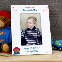 Personalised Paddington Bear 6x4 Photo Frame