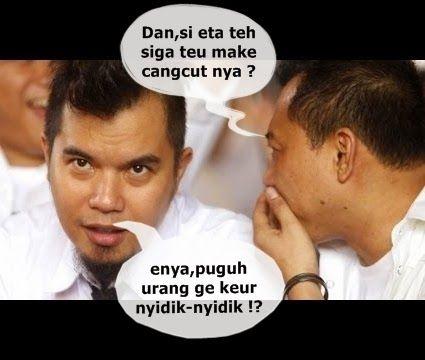 Foto dan kata lucu berbahasa Sunda yang kocak abis
