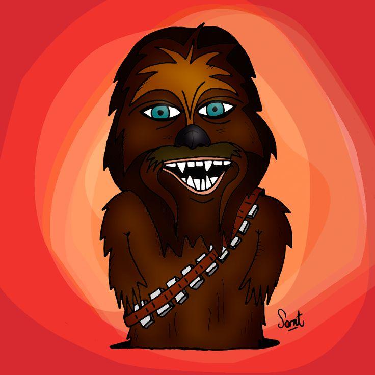 #Starwars #Chewbacca #SantiagoCompte