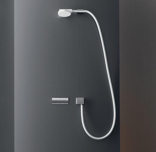 CEA Design - SWI09, główka prysznicowa, biała.