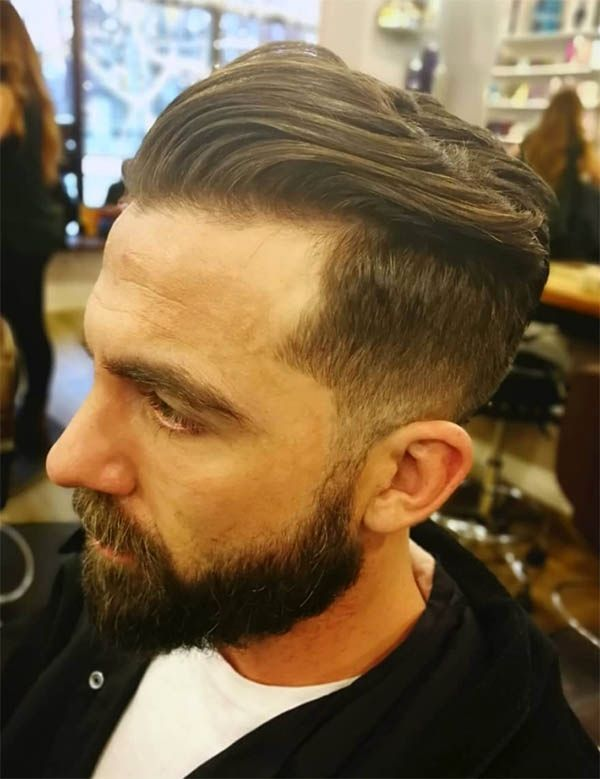Wavy – Men's Long Hair With Undercut Hairstyles