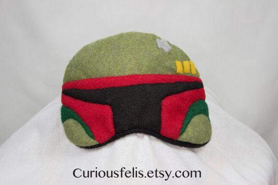 Boba Fett Sleepy eye mask by CuriousFelis on Etsy