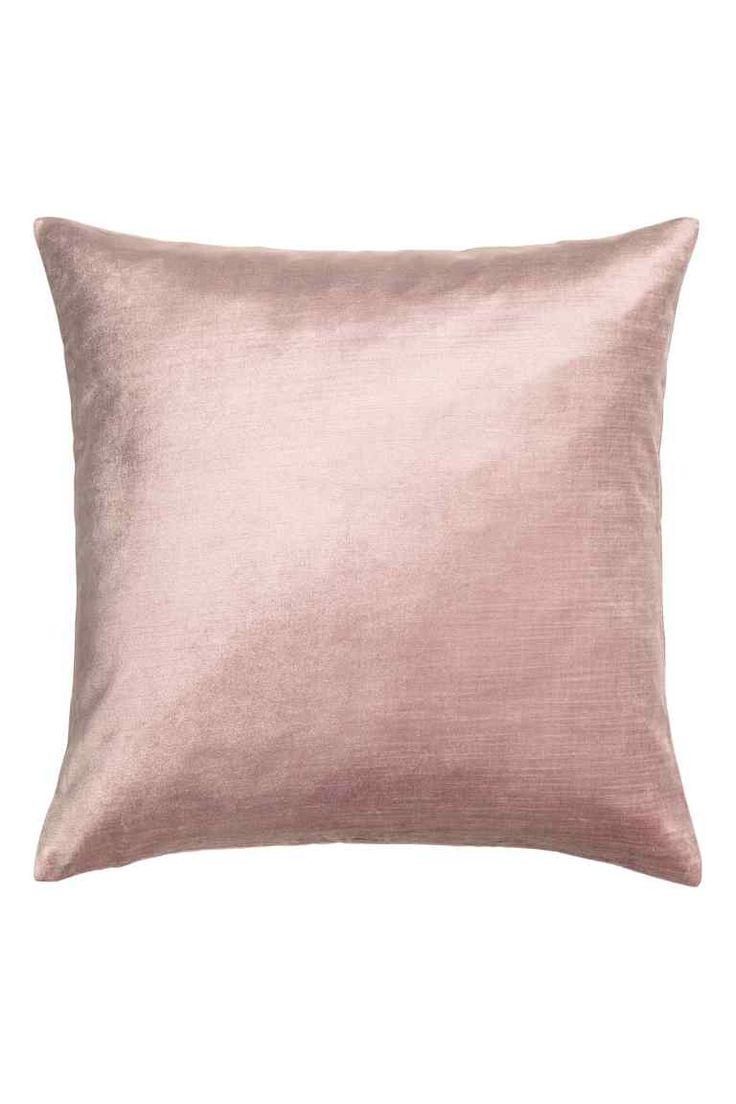 Husă de pernă de catifea - Roz-deschis - HOME | H&M RO 1