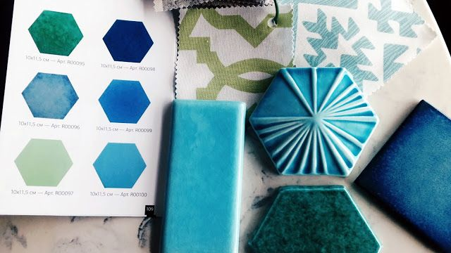 Looking for materials. Hexagone tile