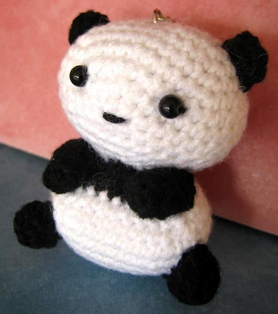 Amigurumi Tarepanda : Tare Panda by ccf amiguru, via Flickr Pandas Pinterest ...