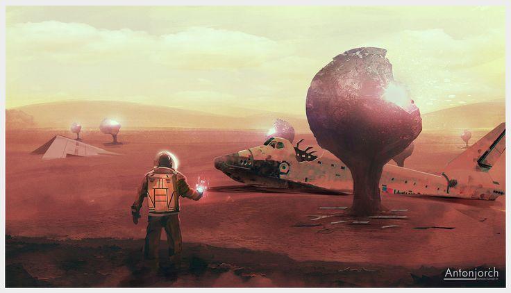 Weird Discovery, Jorge Gonzalez on ArtStation at https://www.artstation.com/artwork/weird-discovery