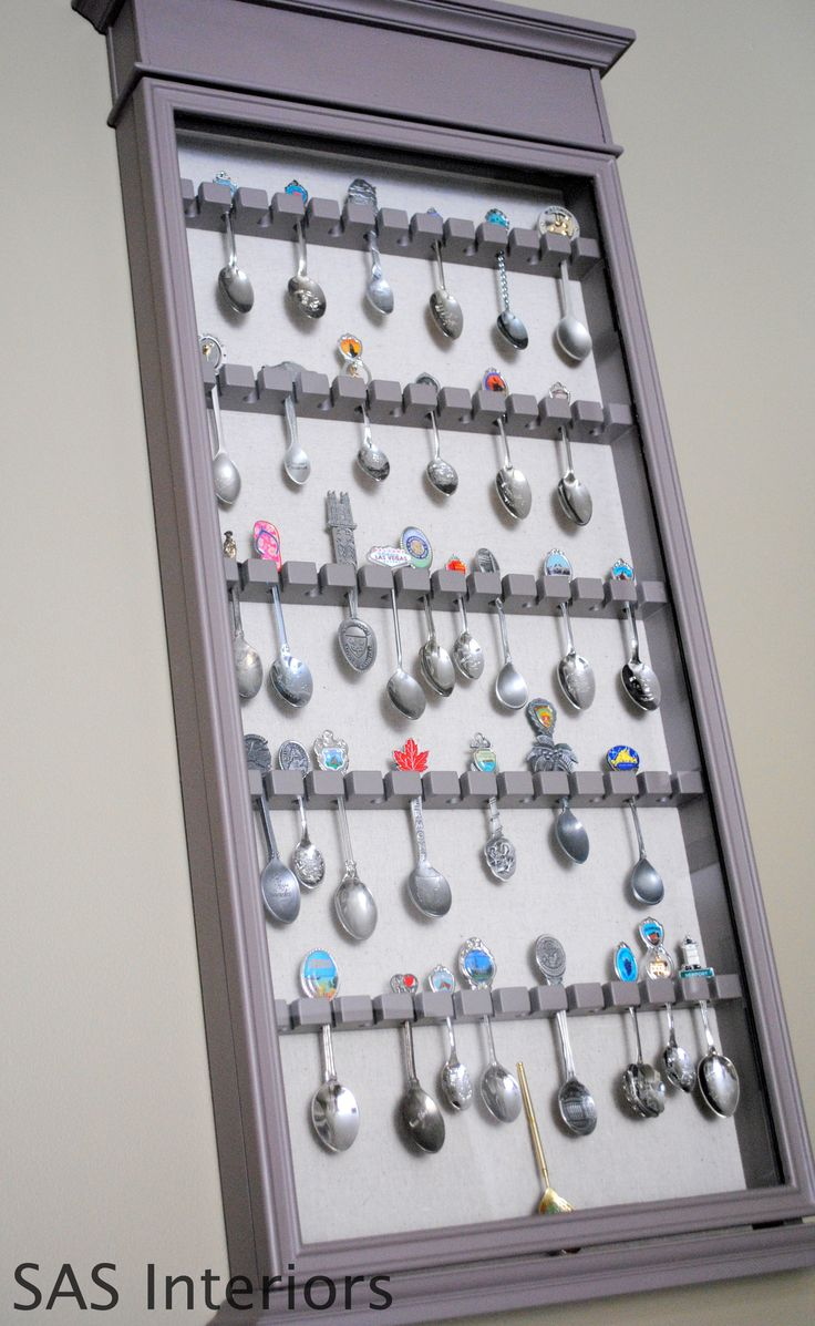 Spoon Rack Makeover @Sharon Scott   Maybe grandma's spoon rack could have a whole new life??