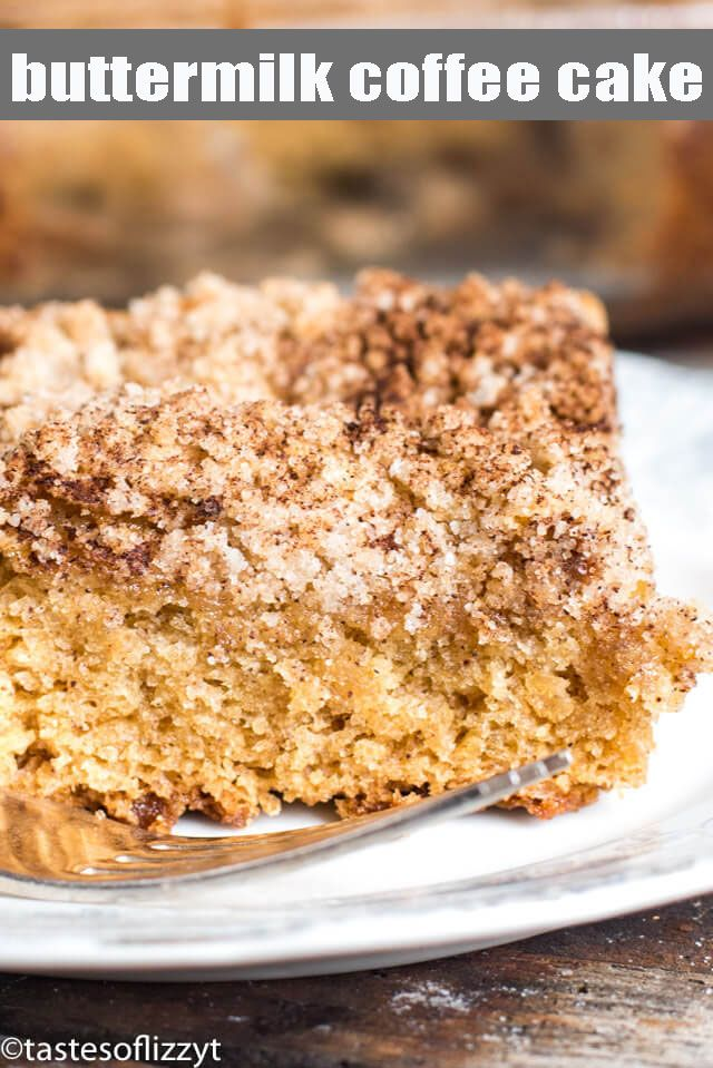 Buttermilk Coffee Cake In 2020 Coffee Cake Recipes Easy Coffee Cake Recipes Coffee Cake