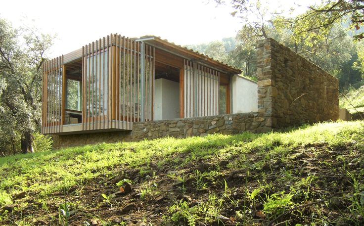 Contemporary architecture in Tuscany. Il Pensatoio - rural architecture in Tuscany (Scarlino – Grosseto) – project and construction by