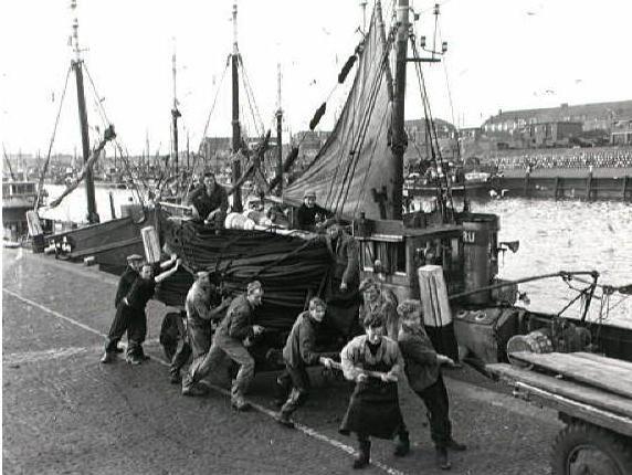 Haven van Scheveningen 1954