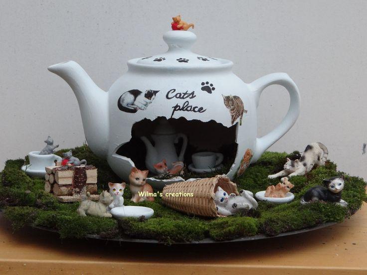 Teapot. Wilma's creations