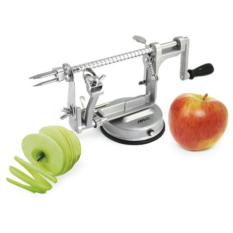 Avanti - Apple Peeler, Corer & Slicer  ... well this looks nifty: Apples Peeler