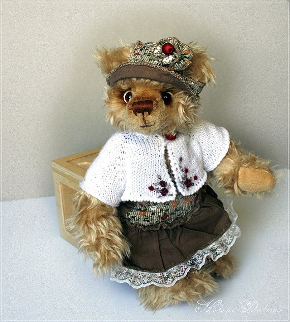 OOAK Artist Bear  Vintage bear by AldanaBears on Etsy, $72.00
