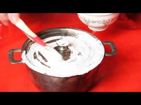 Супер способ чистить серебро и мельхиор - YouTube