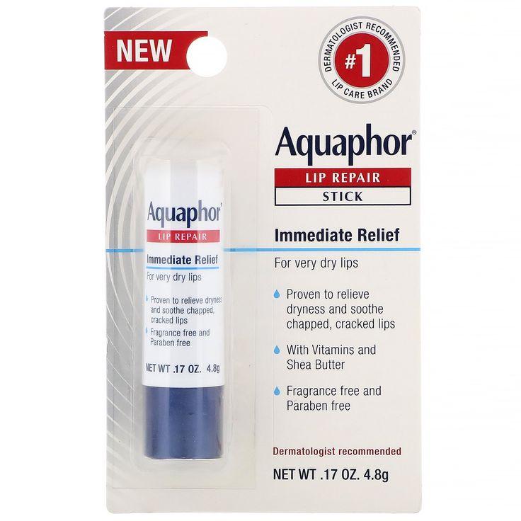Aquaphor lip repair stick immediate relief fragrance