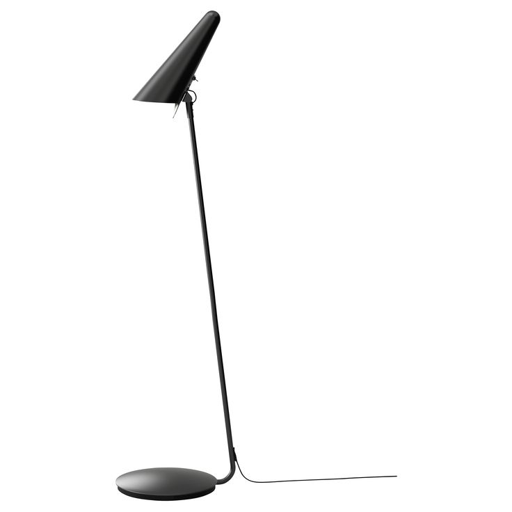 ikea stockholm led floor read lamp black. Black Bedroom Furniture Sets. Home Design Ideas