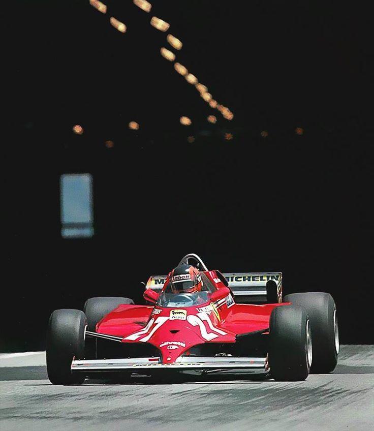 Gilles Villeneuve (Ferrari) vainqueur du Grand Prix de Monaco 1981