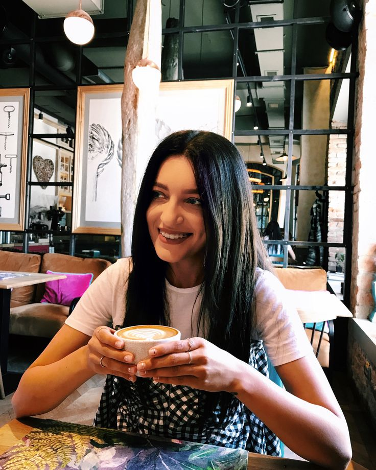 Smile and coffee