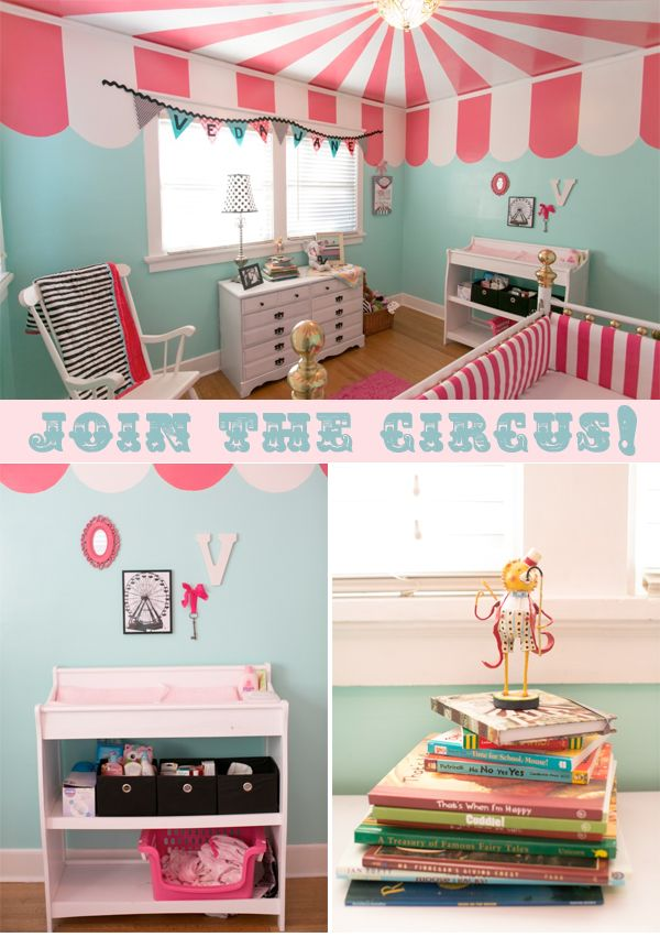 1000 images about circus nursery on pinterest paint for Circus themed bedroom ideas
