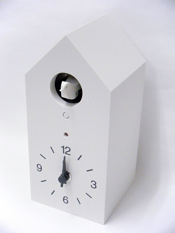 Moma Muji White Hanging Clocks Cuckoo Clocks New Learn More By Visiting The Image Link This Is An Affilia Hanging Clock Cuckoo Clock Modern Cuckoo Clocks